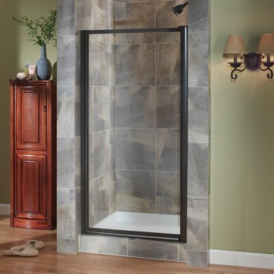 "Tides 65"" x 25"" Framed Pivot Shower Door Product Photo"