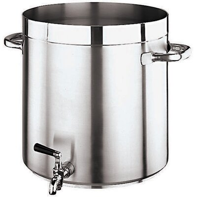 Grand Gourmet Stock Pot with Faucet by Paderno World Cuisine