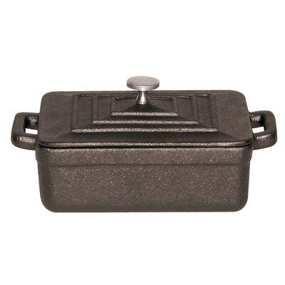 Tabletop Cookware 0.01 Qt. Cast Iron Rectangular Casserole by Paderno World Cuisine