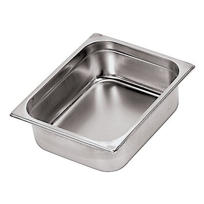 Stainless Steel Hotel Pan - 1/1 in Silver by Paderno World Cuisine