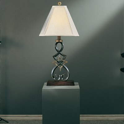 """Minka Ambience 36"""" H Table Lamp with Bell Shade"""
