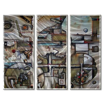 'Back roads' by Brian Wall 3 Piece Graphic Art Plaque Set by All My Walls ...