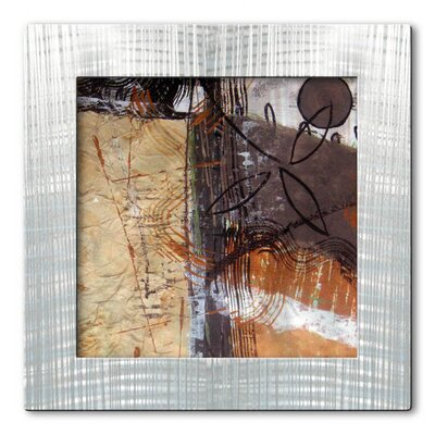 All My Walls 'Stoic Warmth' by Ruth Palmer Original Painting on Metal Plaque