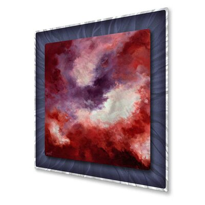 All My Walls 'Echoes II' by Keith Burnett Original Painting on Metal Plaque