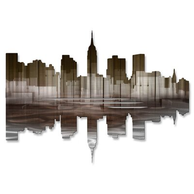 All My Walls New York City Reflection III Wall Décor