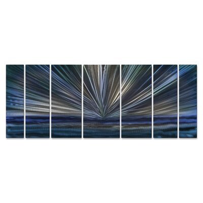 On The Horizon by Ash Carl Metal Wall Art by All My Walls