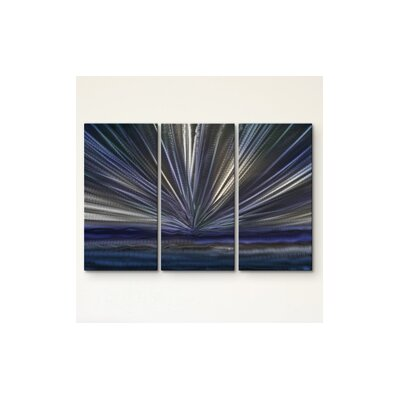 On The Horizon IV Metal Wall Art by All My Walls