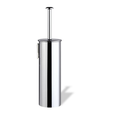 Stilhaus by Nameeks Holiday Wall Mounted Rounded Toilet Brush Holder in Chrome