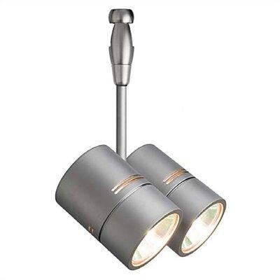 Twin 2 Light Spot Swivel Track Head - Fusion Track Adaptable Product Photo