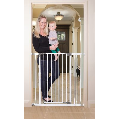 Liberty Extra Tall Stay Open Gate with Extension by Dreambaby