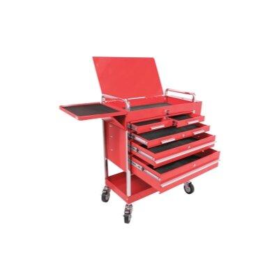 "Sunex Professional Duty 31.5"" Wide 5 Drawer Service Cart"