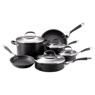 Elite Aluminum 10 Piece Cookware Set by Circulon