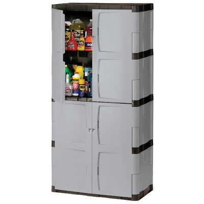 """Rubbermaid 72"""" H x 36"""" W x 18"""" D Full Double Door Cabinet"""