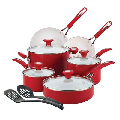 Ceramic CXi Nonstick 12 Piece Cookware Set by SilverStone