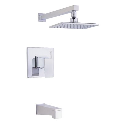 Mid-Town Tub and Shower Faucet Trim with Lever Handle Product Photo