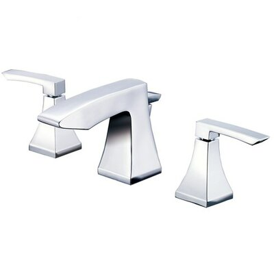 Logan Square Double Handle Widespread Bathroom Faucet with Pop-Up Drain Product Photo