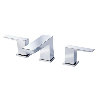 Mid-Town Double Handle Mini Widespread Bathroom Faucet with Touch Down Drain Product Photo