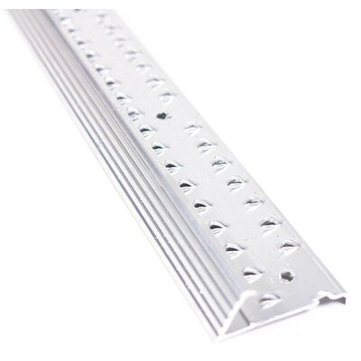 """M-d Products 1.38"""" x 36'' Carpet Reducer in Silver"""