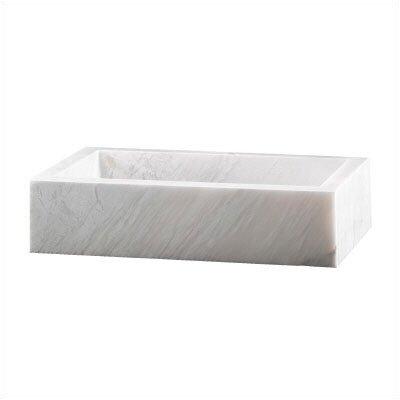 Pegasus Pegaus Rectangular Block Vessel Bathroom Sink