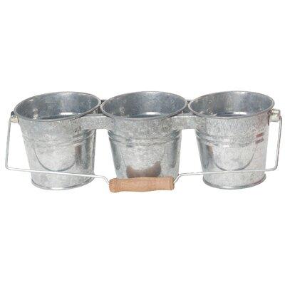 Houston International Triple Round Pot Planter