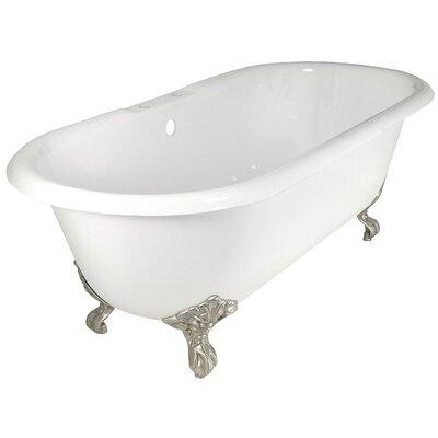 "Elizabethan Classics 67"" x 30"" Dual Soaking Bathtub"