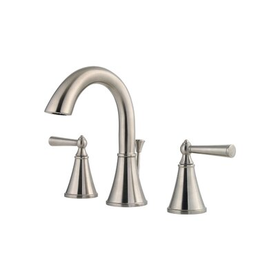 Pfister Saxton Double Handle Widespread Standard Bathroom Faucet