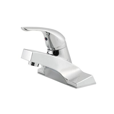 Pfirst Series Single Handle Single Hole Standard Bathroom Faucet Product Photo