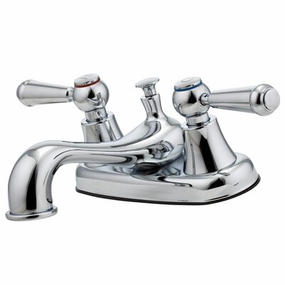 Pfirst Series Double Handle Centerset Standard Bathroom Faucet Product Photo