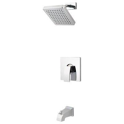 Kenzo Tub and Shower Faucet Trim with Knob Handle Product Photo
