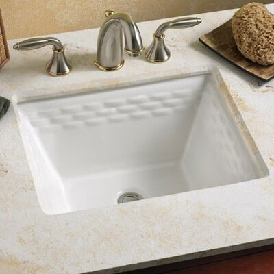 Rattan Undercounter Bathroom Sink Product Photo