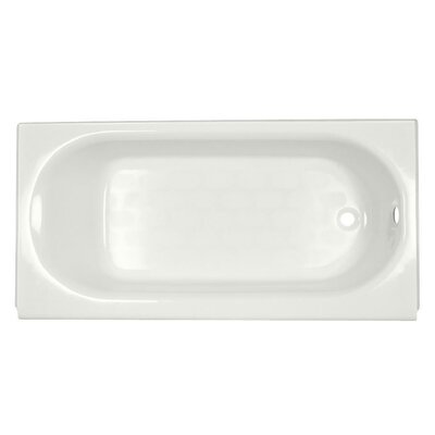 "American Standard Princeton 60"" x 30"" Recess Whirlpool Bathtub with Integral Overflow"