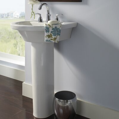 Tropic Petite Pedestal Bathroom Sink Set Product Photo