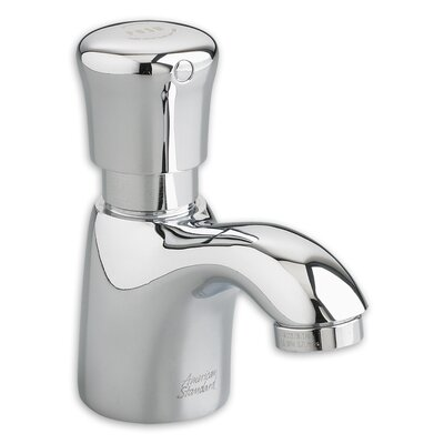 Pillar Tap Single Hole Metering Faucet with Single Knob Handle Product Photo