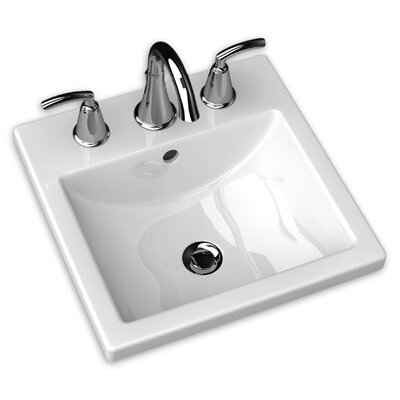 American Standard Studio Carre Countertop Bathroom Sink