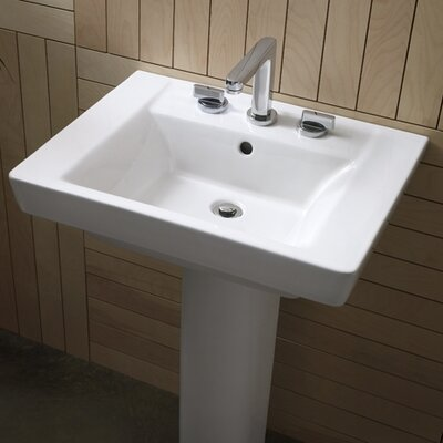 Boulevard Pedestal Bathroom Sink Set Product Photo