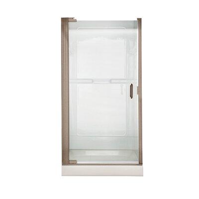 "Euro 65.57"" x 36"" Pivot Frameless By-Pass Shower Door Product Photo"