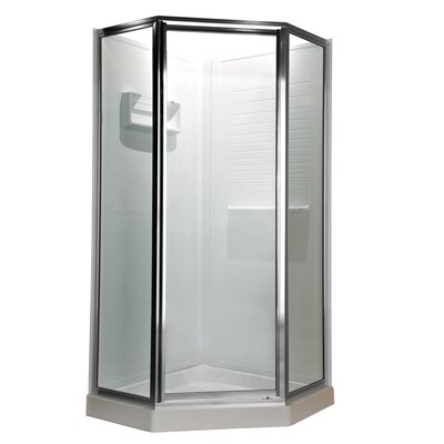 "72"" Neo Angle Clear Shower Door Product Photo"