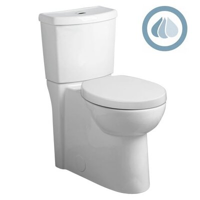 Studio Concealed Trapway Dual Flush Right Height 1.1 GPF / 1.6 GPF Round Front 2 Piece Toilet Product Photo