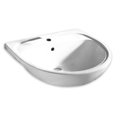 Mezzo Semi Countertop Bathroom Sink with Eright Handle by American Standard