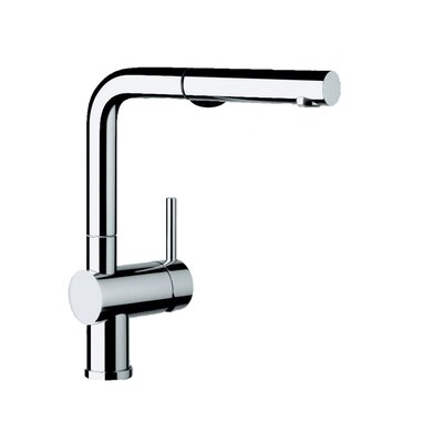 Linus Single Handle Deck Mounted Kitchen Faucet with Dual Pull Out Spray Product Photo