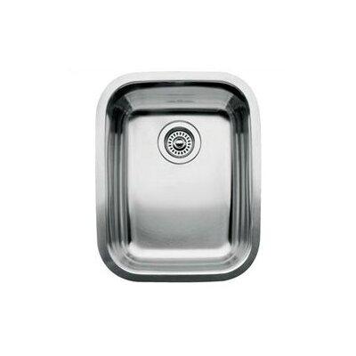 "Blanco Supreme 16.13"" x 20.44"" Single Bowl Undermount Kitchen Sink"