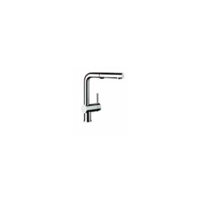 Linus Single Handle Deck Mounted Kitchen Faucet with Pull Out and Dual Spray Product Photo