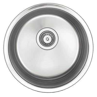 "18"" x 18"" x 8"" Round Bar Sink Product Photo"