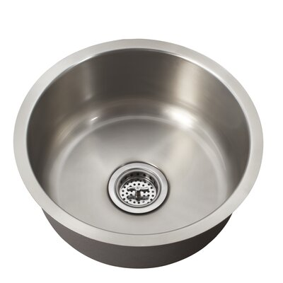 "16"" x 16"" Single Bowl Bar Sink Product Photo"