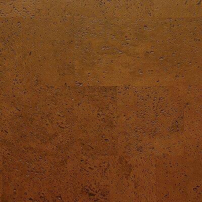"WE Cork Avant Garde 11-7/8"" Engineered Cork Oak Hardwood Flooring in Saddle Monte Carlo"