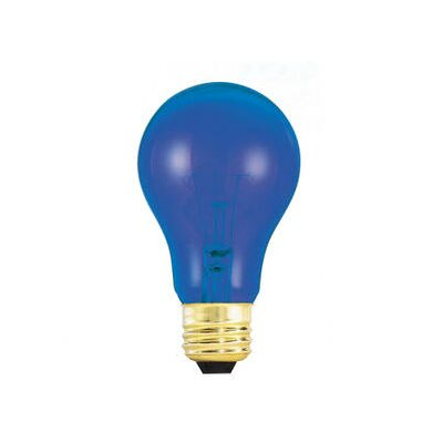 Bulbrite Industries 25W Blue 120-Volt Incandescent Light Bulb