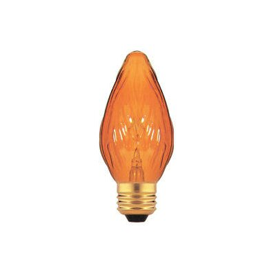 Bulbrite Industries Amber 130-Volt Incandescent Light Bulb