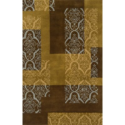 Continental Rug Company Edge Brown/Tan Area Rug