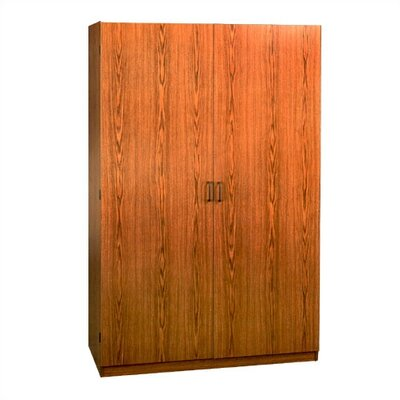 SystemBuild Collection 2-Door Wardrobe Cabinet - Oak Product Photo