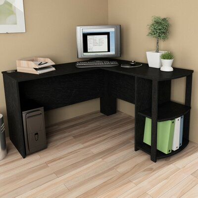 Ameriwood Industries Computer Desk with 2 Shelves